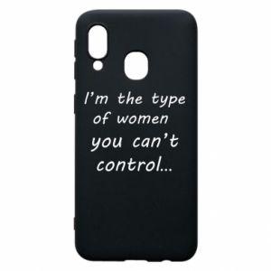 Etui na Samsung A40 I'm the type