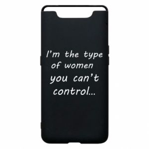Etui na Samsung A80 I'm the type