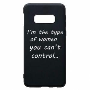 Etui na Samsung S10e I'm the type