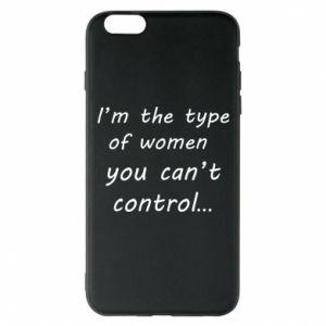 Etui na iPhone 6 Plus/6S Plus I'm the type