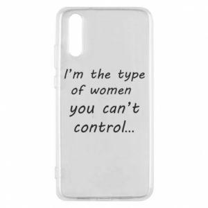 Etui na Huawei P20 I'm the type