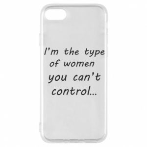 Etui na iPhone 7 I'm the type