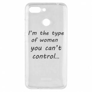 Etui na Xiaomi Redmi 6 I'm the type