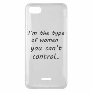 Etui na Xiaomi Redmi 6A I'm the type