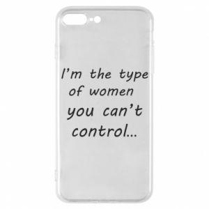 Etui na iPhone 7 Plus I'm the type