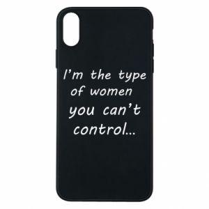 Etui na iPhone Xs Max I'm the type