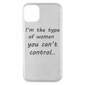 Etui na iPhone 11 Pro I'm the type