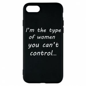 Etui na iPhone 8 I'm the type