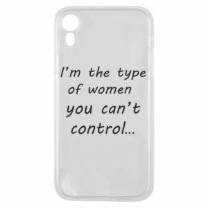 Etui na iPhone XR I'm the type