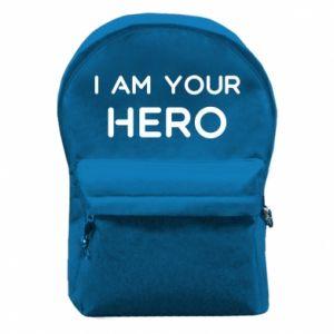 Plecak z przednią kieszenią I'm your hero