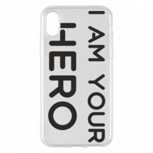 Etui na iPhone X/Xs I'm your hero