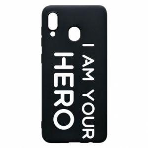 Etui na Samsung A20 I'm your hero