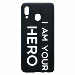 Etui na Samsung A30 I'm your hero