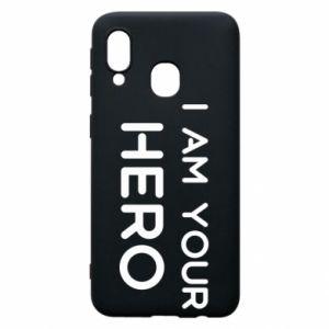 Etui na Samsung A40 I'm your hero