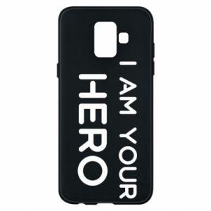 Etui na Samsung A6 2018 I'm your hero