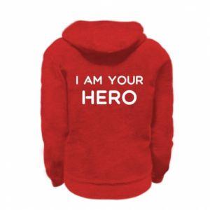 Bluza na zamek dziecięca I'm your hero