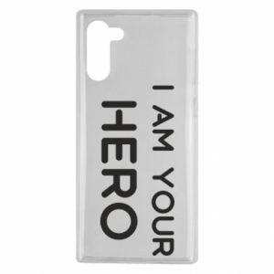 Etui na Samsung Note 10 I'm your hero