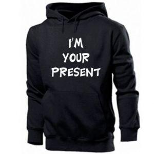 Men's hoodie I'm your present