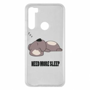 Xiaomi Redmi Note 8 Case I need more sleep