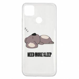 Xiaomi Redmi 9c Case I need more sleep