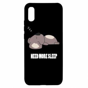Xiaomi Redmi 9a Case I need more sleep