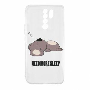 Xiaomi Redmi 9 Case I need more sleep
