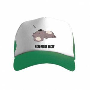 Kid's Trucker Hat I need more sleep