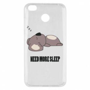 Xiaomi Redmi 4X Case I need more sleep