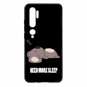 Xiaomi Mi Note 10 Case I need more sleep