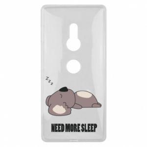 Sony Xperia XZ2 Case I need more sleep