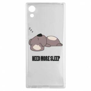 Sony Xperia XA1 Case I need more sleep