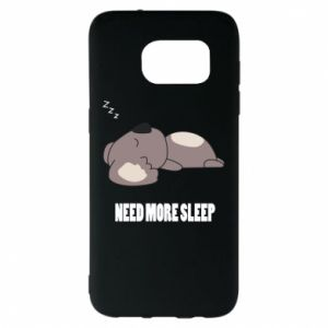Samsung S7 EDGE Case I need more sleep