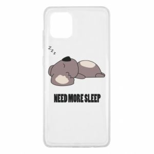 Samsung Note 10 Lite Case I need more sleep
