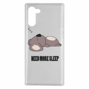 Samsung Note 10 Case I need more sleep