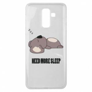 Samsung J8 2018 Case I need more sleep
