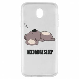 Samsung J7 2017 Case I need more sleep