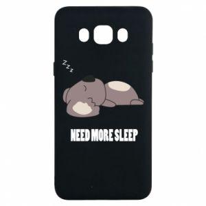 Samsung J7 2016 Case I need more sleep