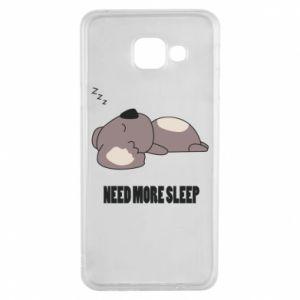 Samsung A3 2016 Case I need more sleep