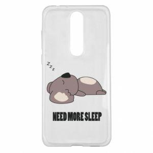 Nokia 5.1 Plus Case I need more sleep