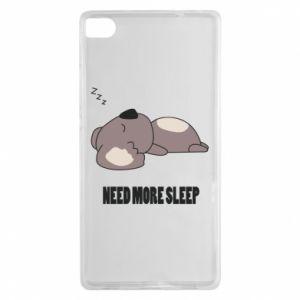 Huawei P8 Case I need more sleep