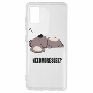Samsung A41 Case I need more sleep
