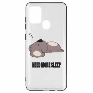Samsung A21s Case I need more sleep