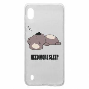 Samsung A10 Case I need more sleep