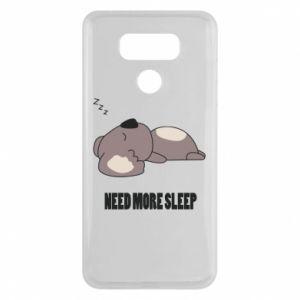 LG G6 Case I need more sleep