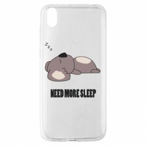 Huawei Y5 2019 Case I need more sleep