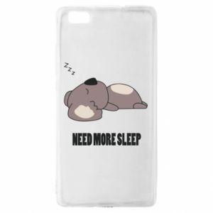 Huawei P8 Lite Case I need more sleep