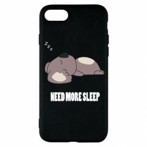 iPhone SE 2020 Case I need more sleep