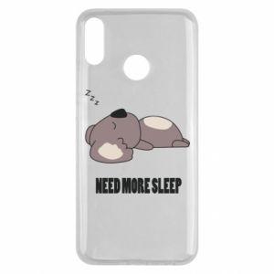 Huawei Y9 2019 Case I need more sleep