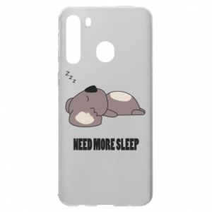 Samsung A21 Case I need more sleep