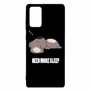 Samsung Note 20 Case I need more sleep